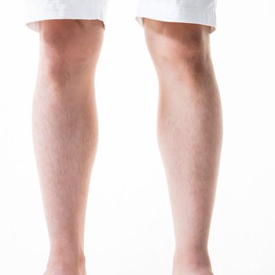 足のすね毛を3mmにカット(男性)の写真