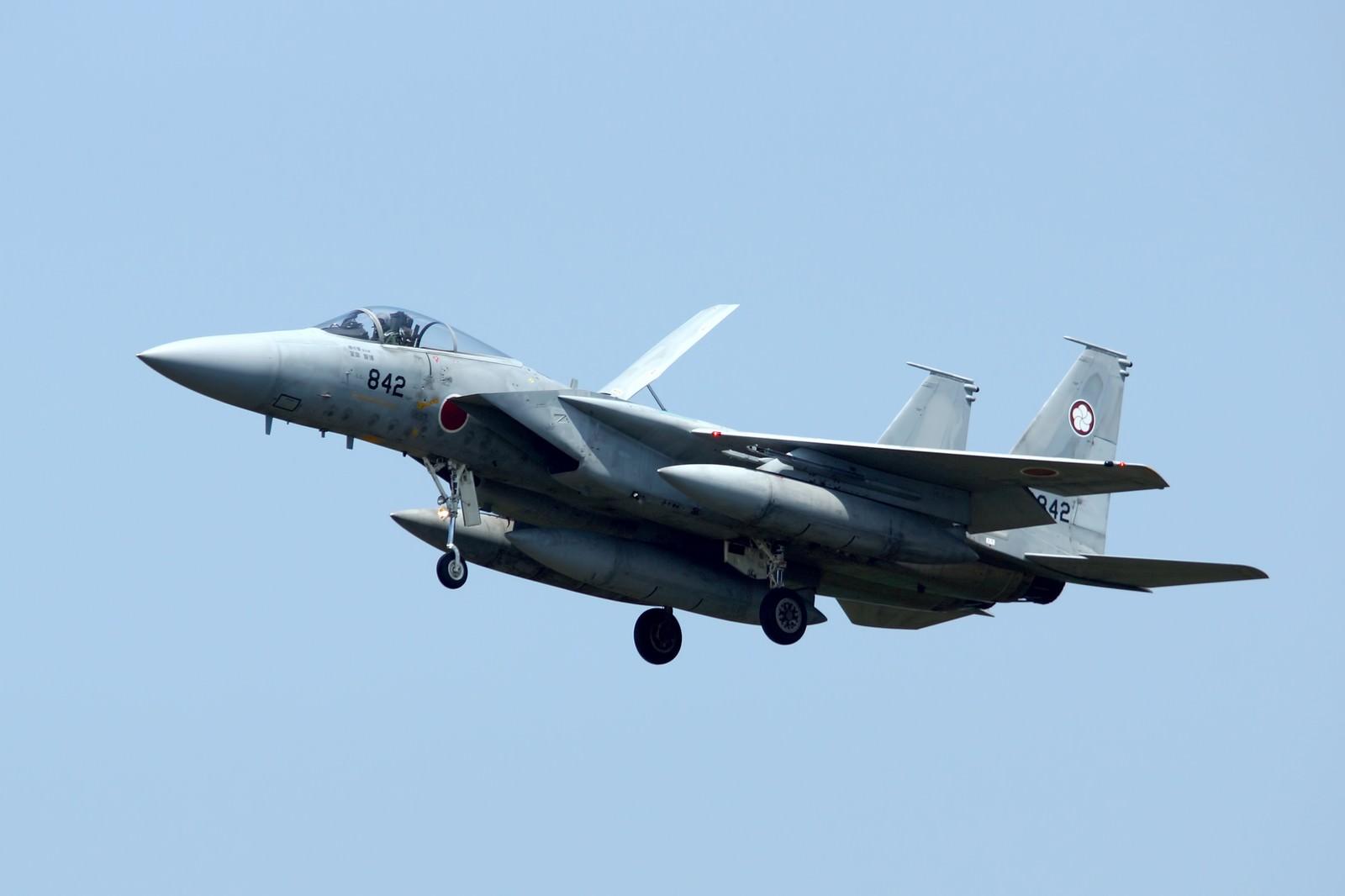「F-15J戦闘機」の写真