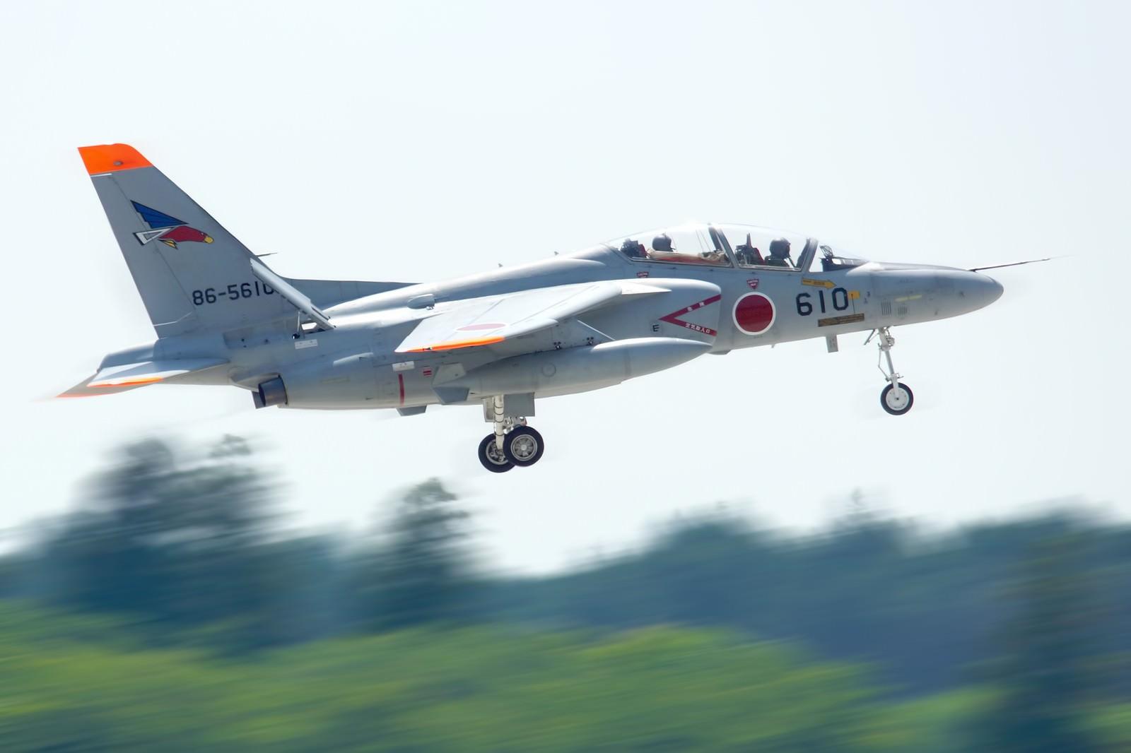 「自衛隊T-4練習機」の写真