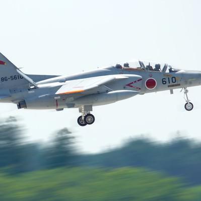 「自衛隊T-4練習機」の写真素材
