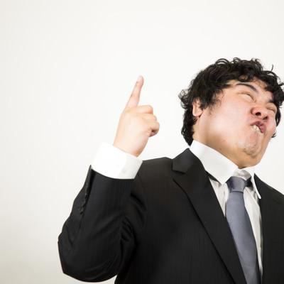 「ナンバーワンを目指して活を入れる部長」の写真素材