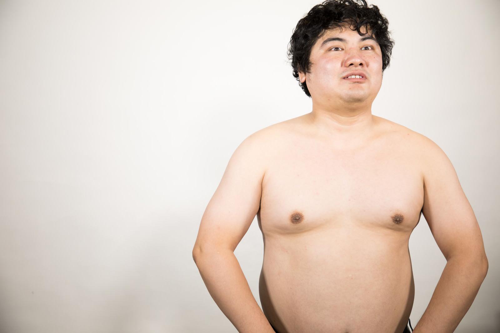 「脱いでもすごいんです脱いでもすごいんです」[モデル:段田隼人]のフリー写真素材を拡大