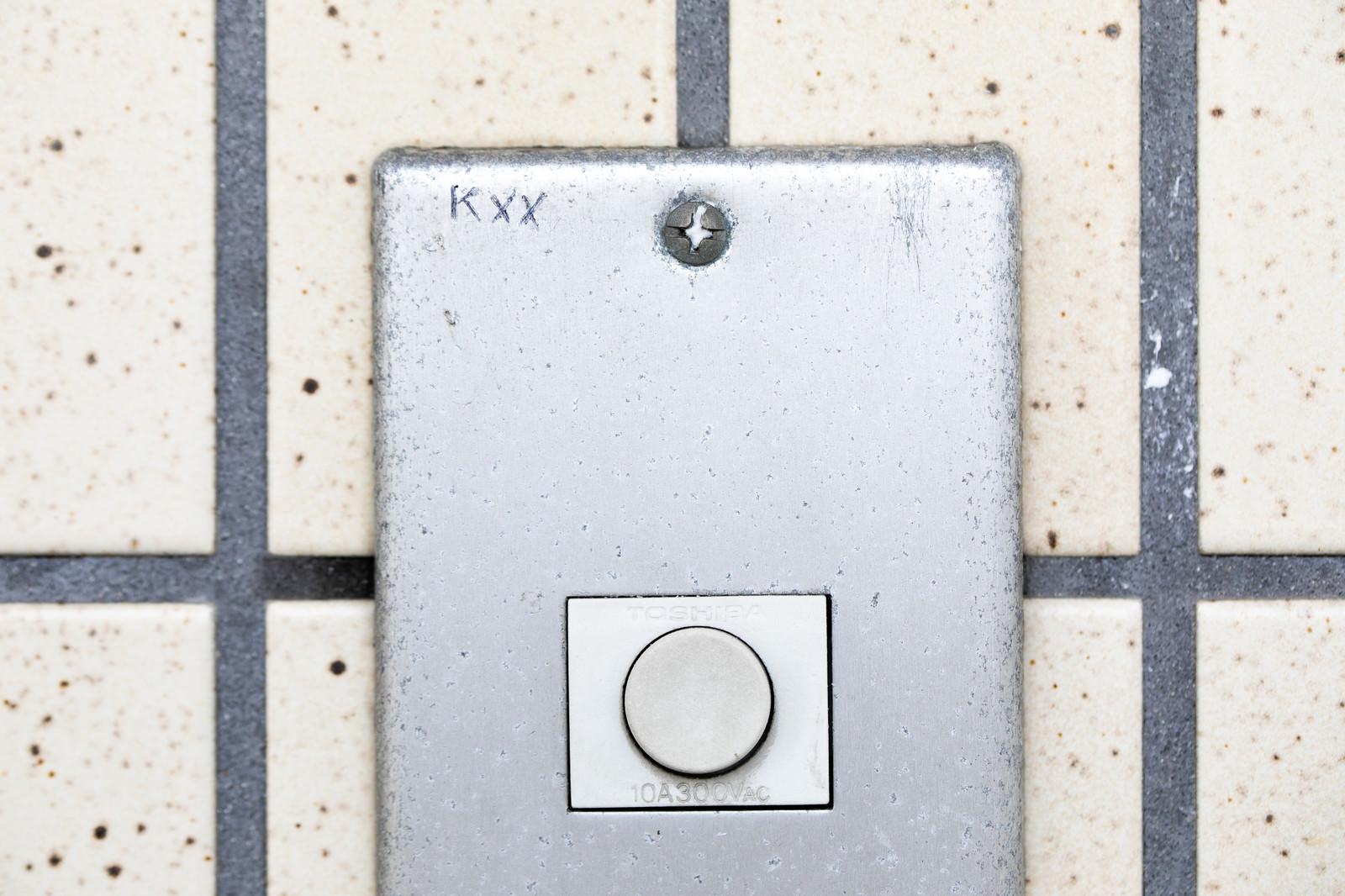 「玄関チャイムのマーキング(Kxx)ー「玄関を開けずに2回断られた」」の写真