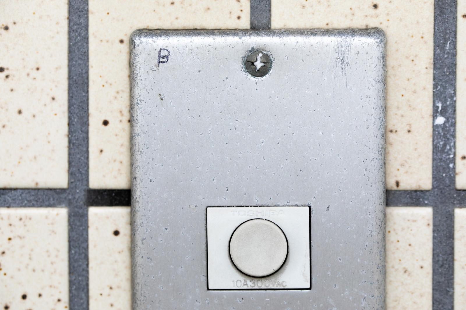 「玄関チャイムのマーキング(B)ー「ブラックリスト」」の写真