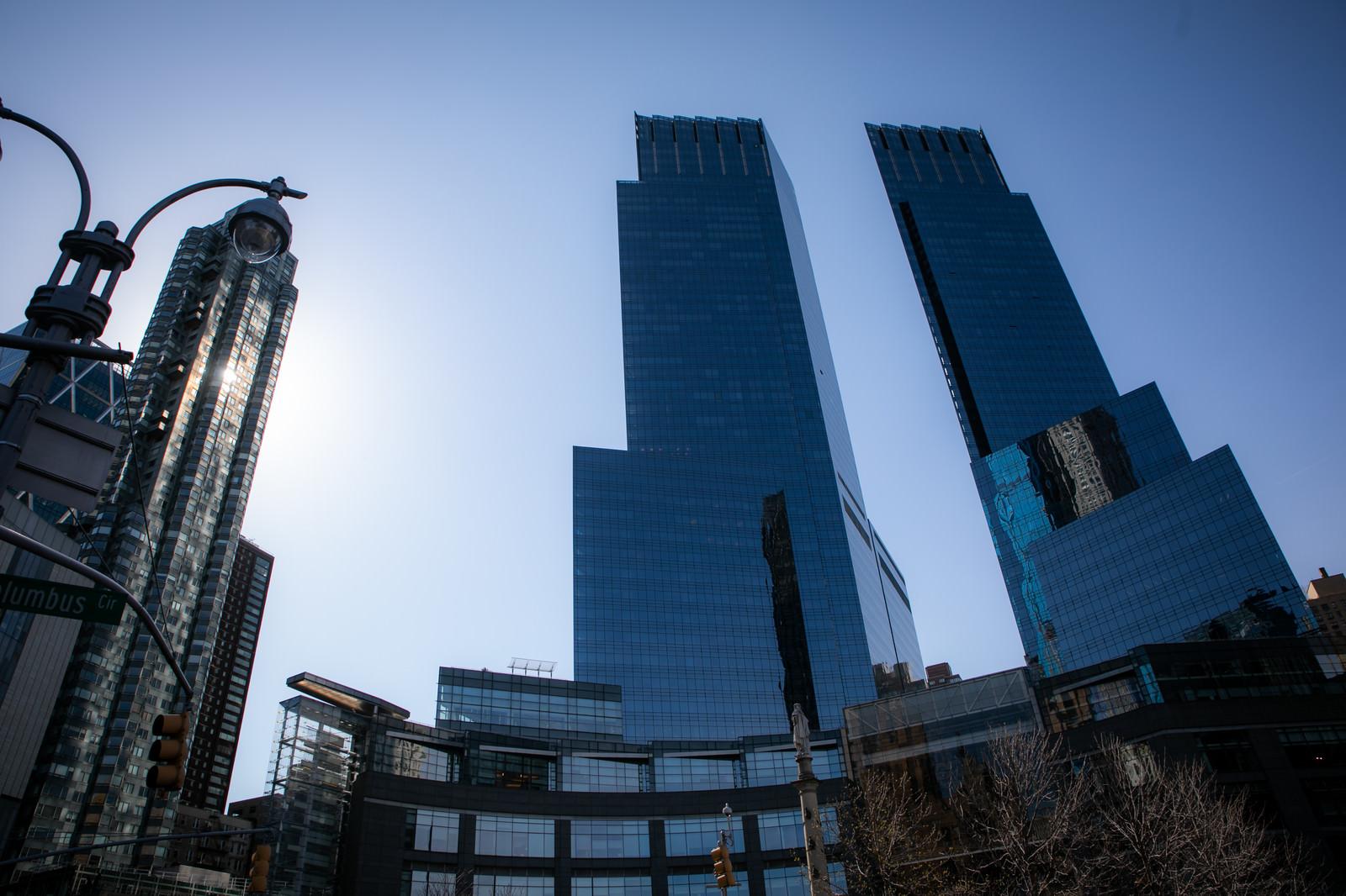 「ガラス張りの高層ビル群(ニューヨーク)」の写真