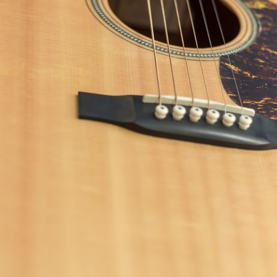 「アコースティックギター」の写真素材