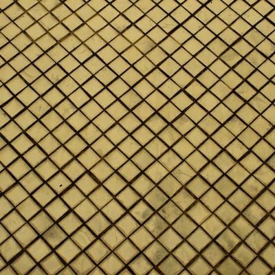 「汚れた黄色いタイル」の写真素材