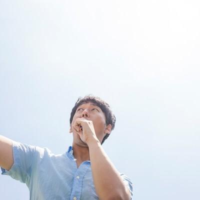 「夏フェスでプチョヘンザップ!」の写真素材