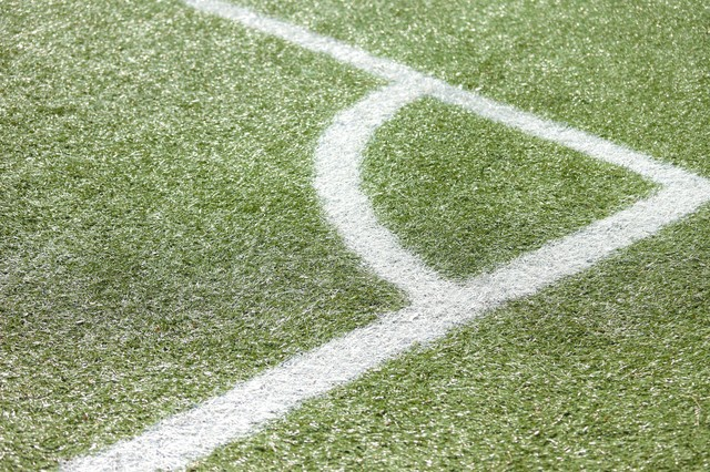 チャンスが生まれるコーナーキック・サッカーの写真