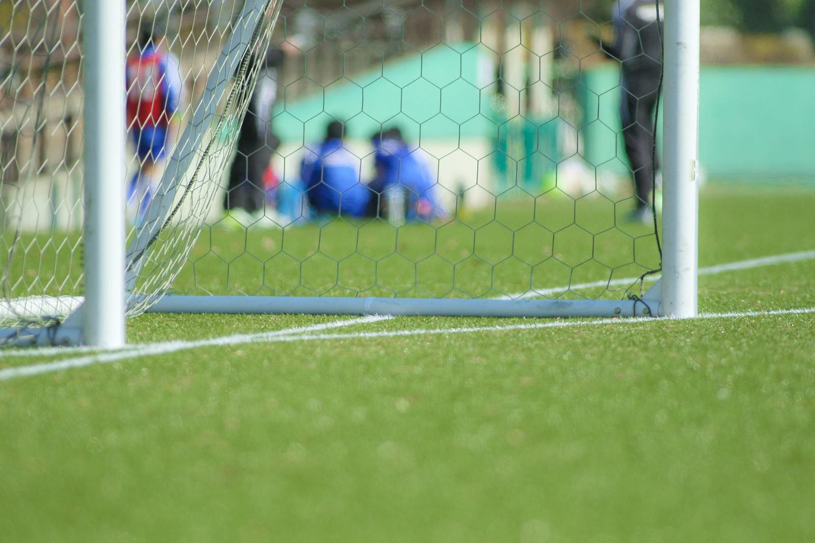 「ZONE-ゴールまで後少し-サッカー」の写真