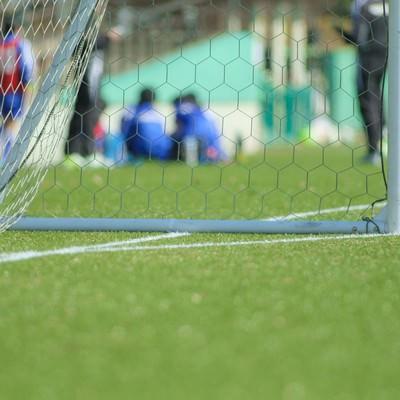 「ZONE-ゴールまで後少し-サッカー」の写真素材