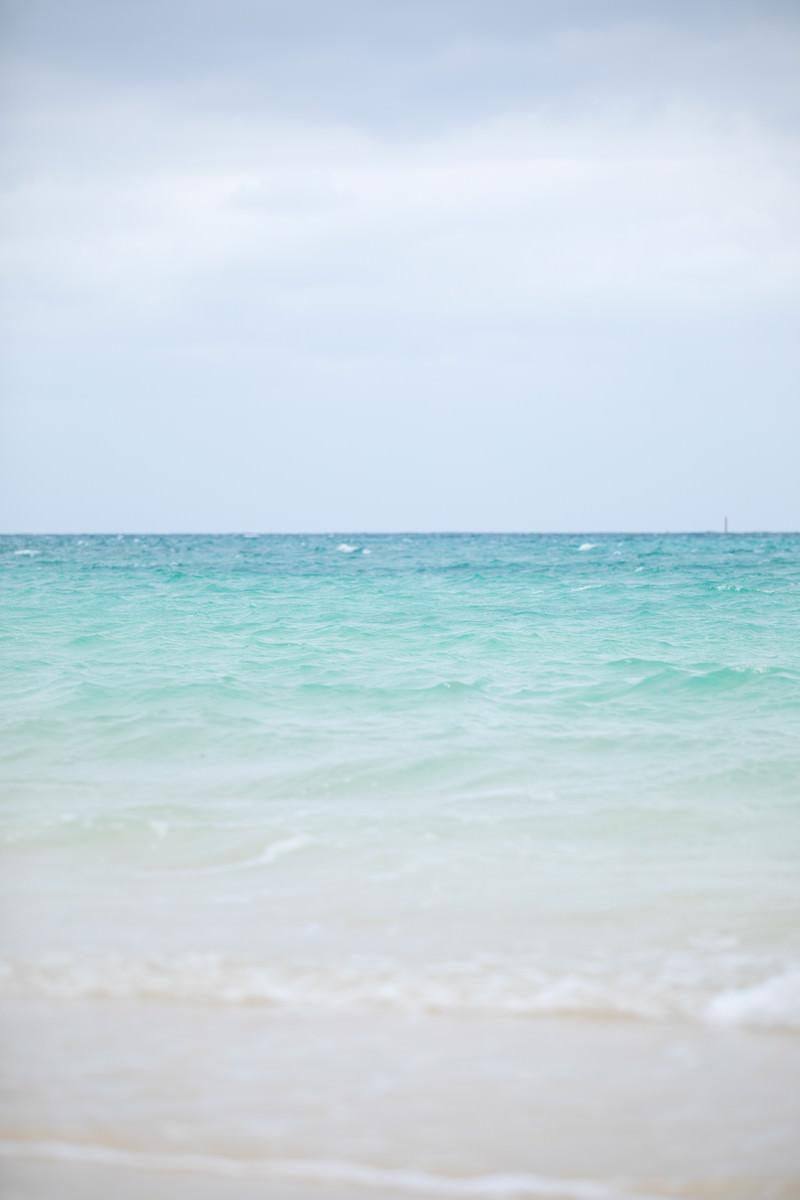 「宮古島の美しい海と空」の写真