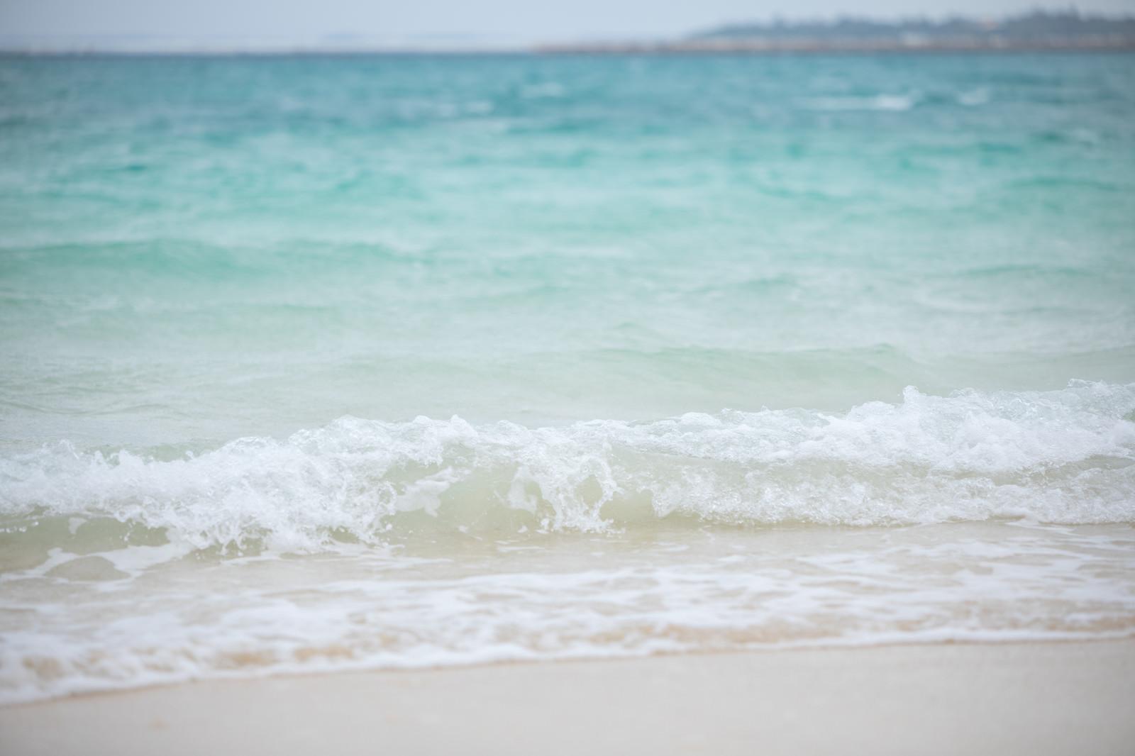 「波打ち際ザパー」の写真