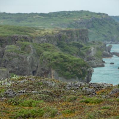 断崖絶壁(宮古島)の写真
