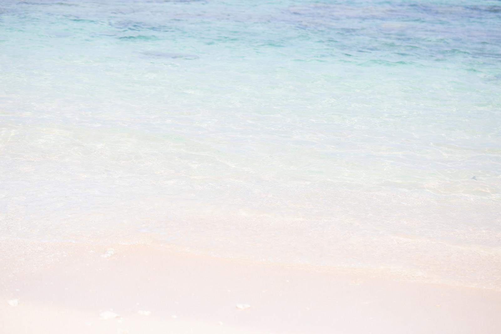 「透き通る海」の写真