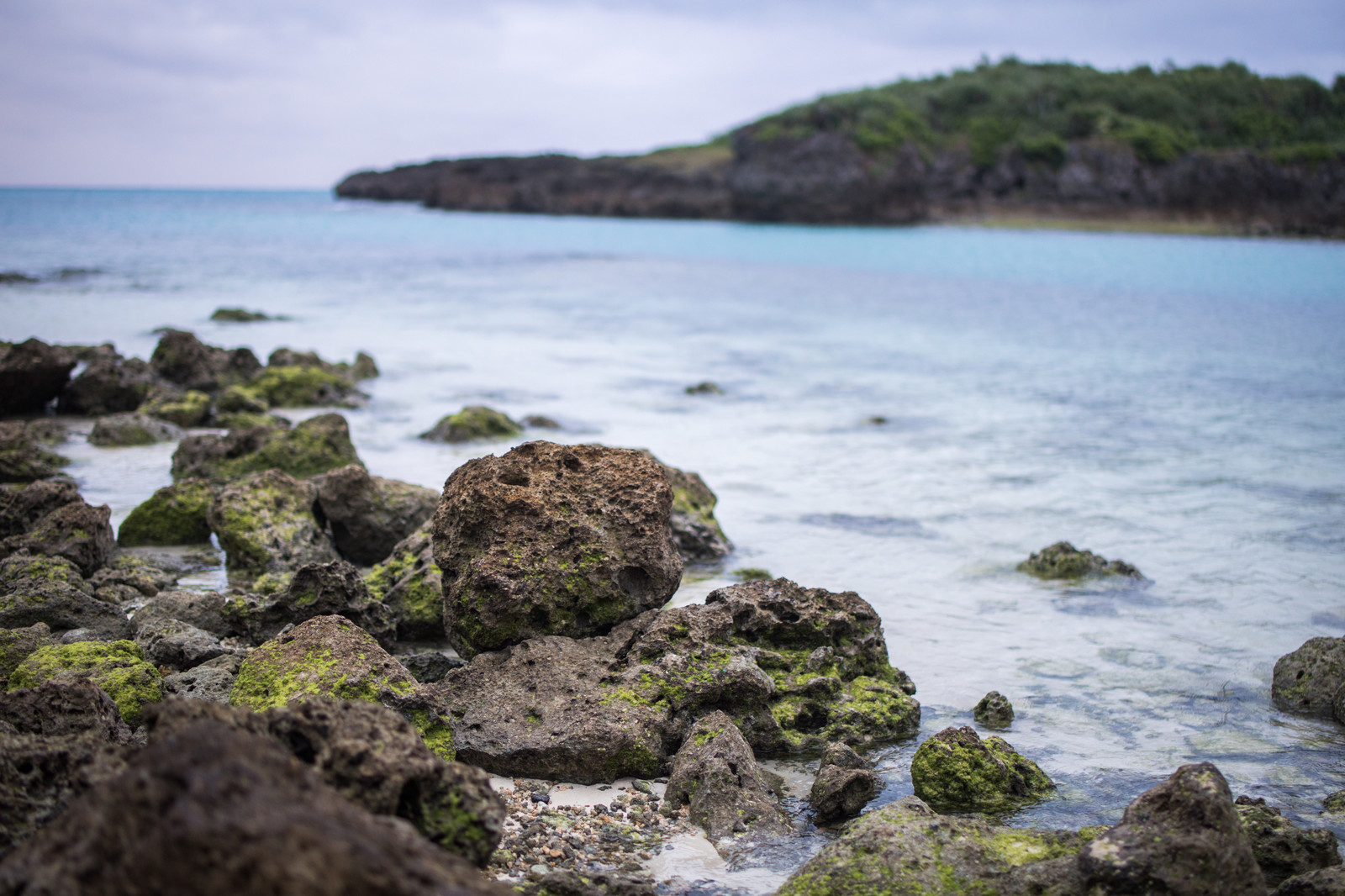 「宮古島の岩石海岸」の写真