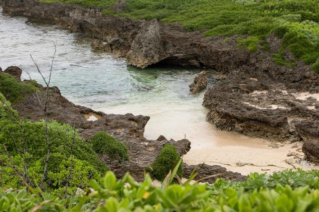 宮古島の海岸の写真