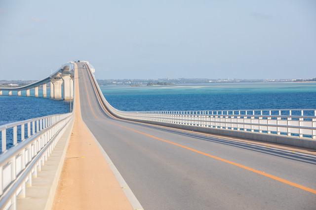 全長3,540mの伊良部大橋の写真