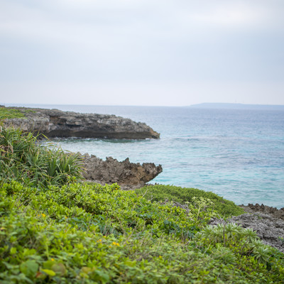 宮古島の海の写真