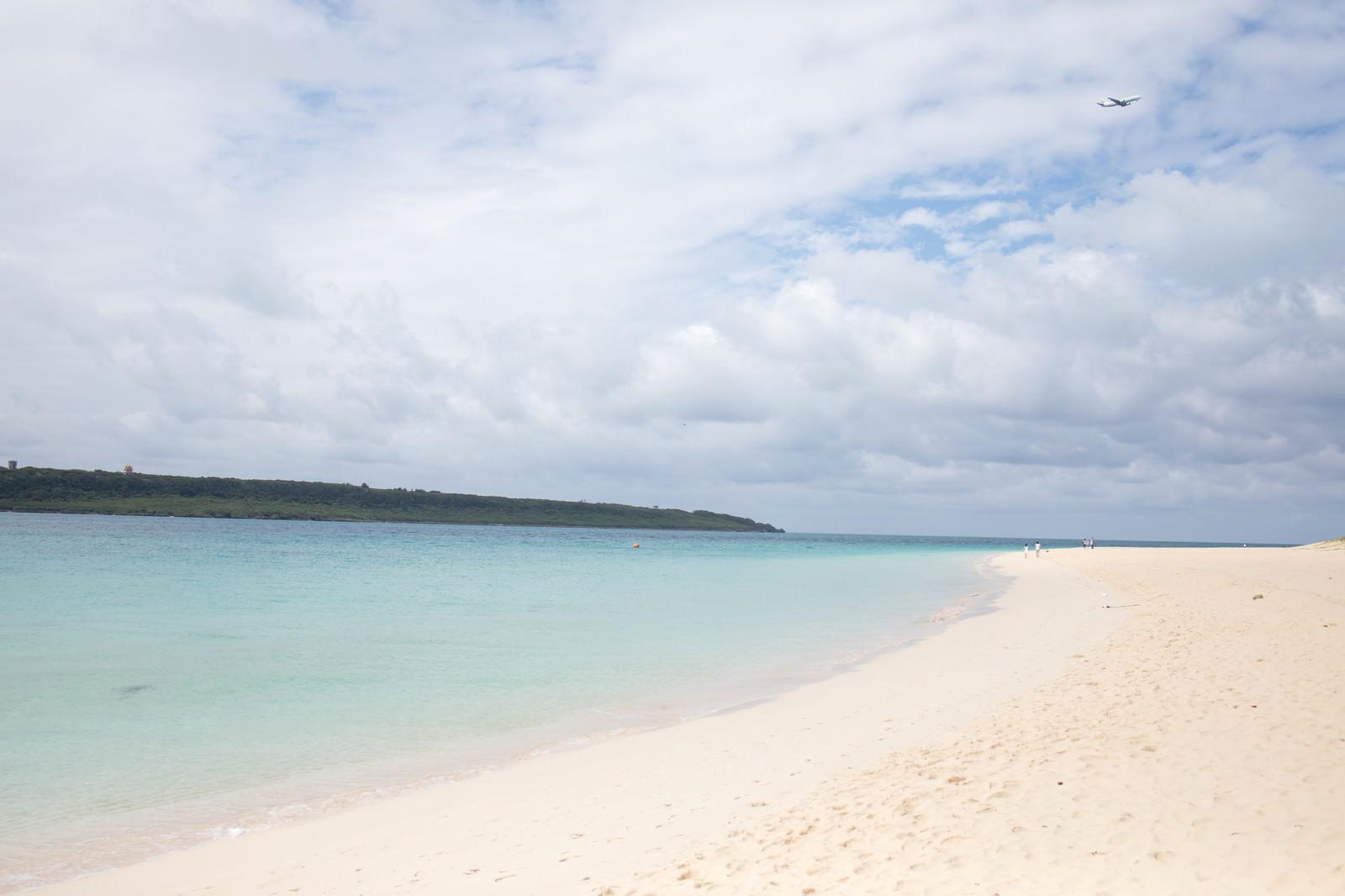 「真っ白な前浜ビーチ(宮古島)」の写真