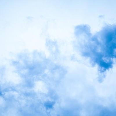 雲に見えるけどじつは煙りの写真