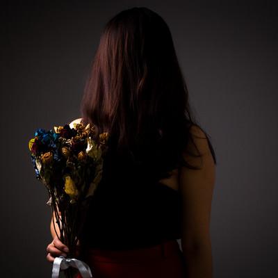 「冷め切った関係」の写真素材