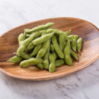 「ボイル前の枝豆」の写真素材