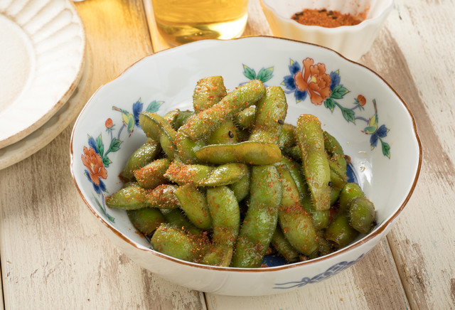 病みつきになる枝豆料理の写真