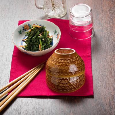 「ご飯にもよく合う春菊のナムル」の写真素材