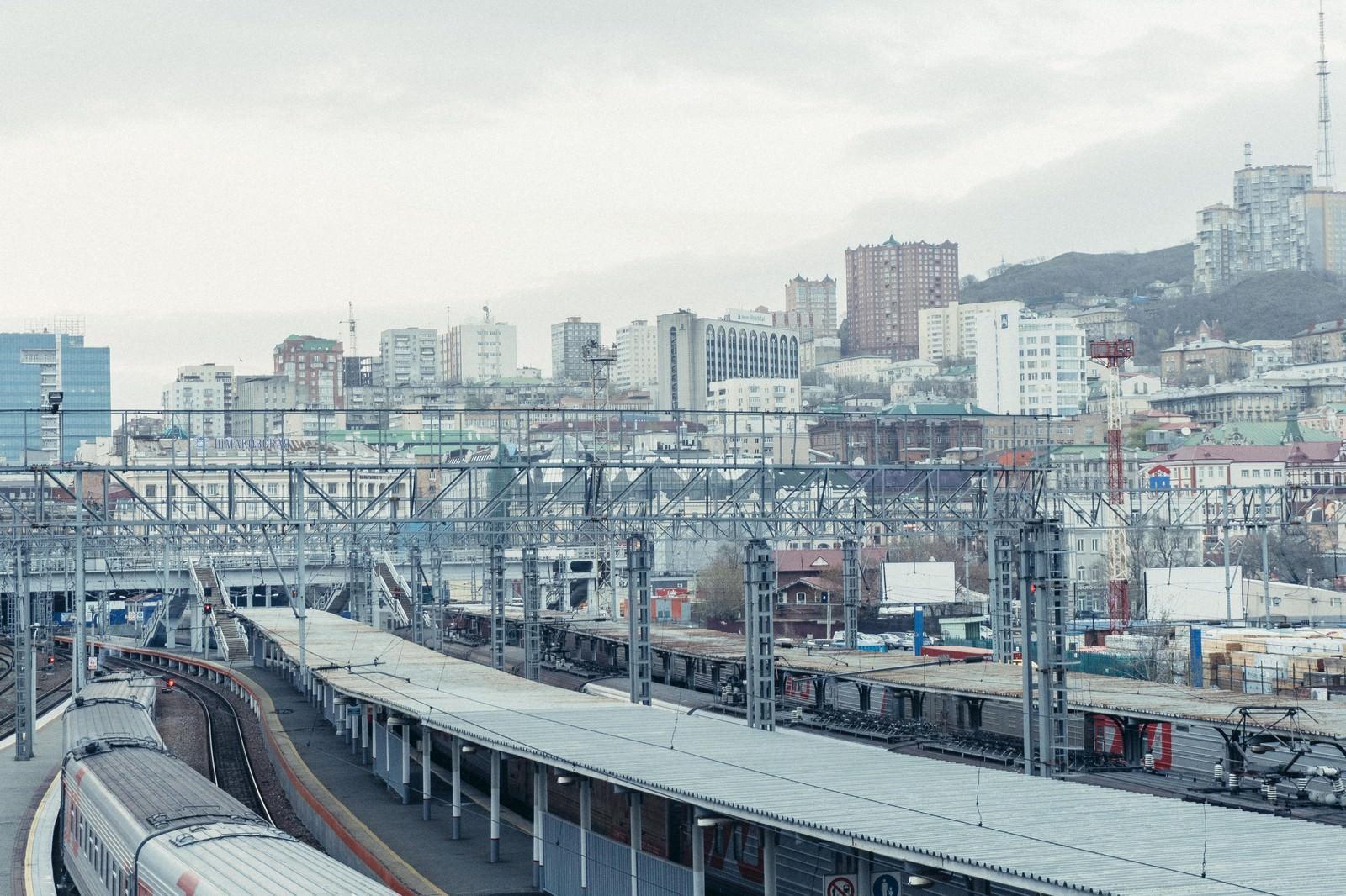 「海外の駅と街並み」の写真