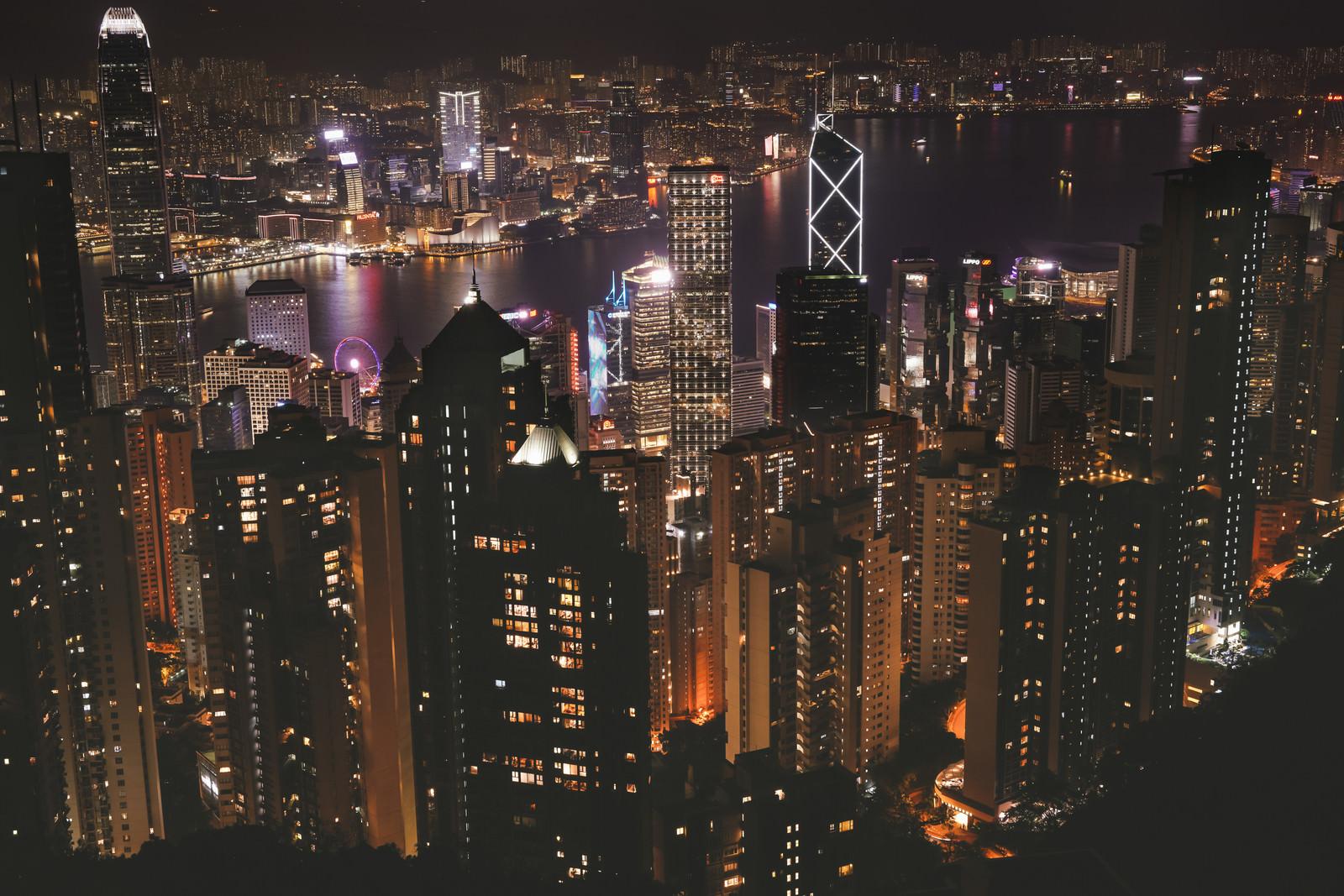 「100万香港ドルの夜景」の写真