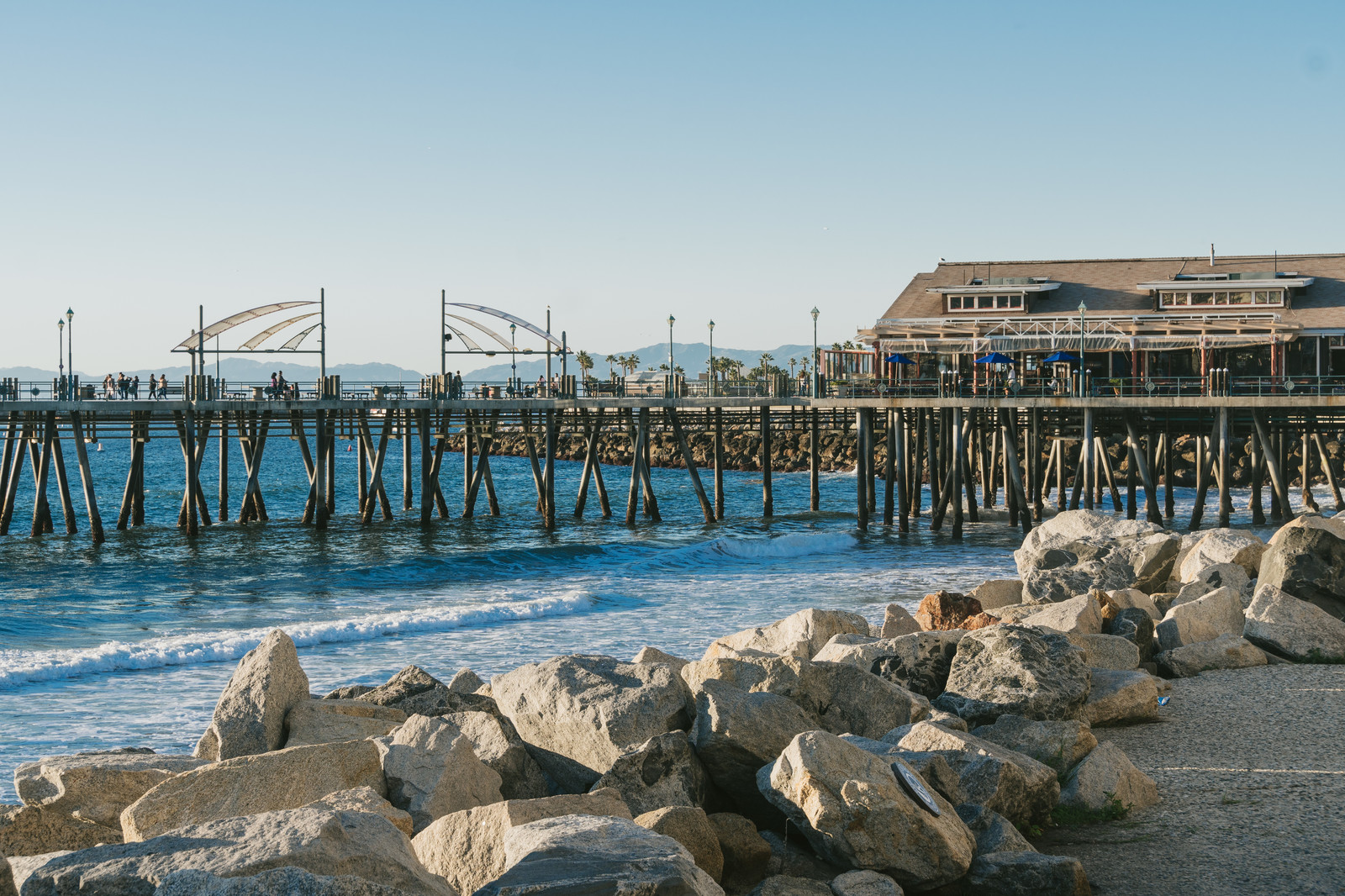 「木橋のレドンドビーチ」の写真