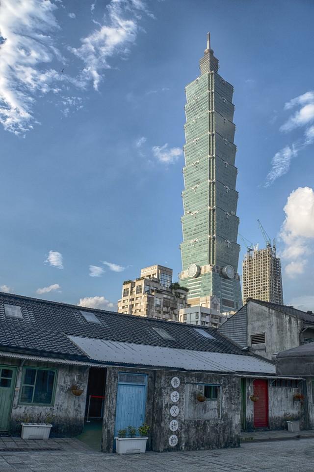 台北101展望台の写真