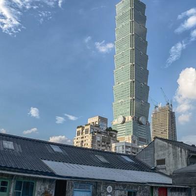 「台北101展望台」の写真素材