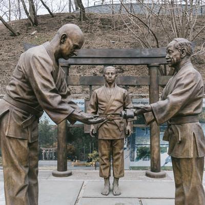 「ウラジオストクはロシアにおける柔道の発祥の地」の写真素材