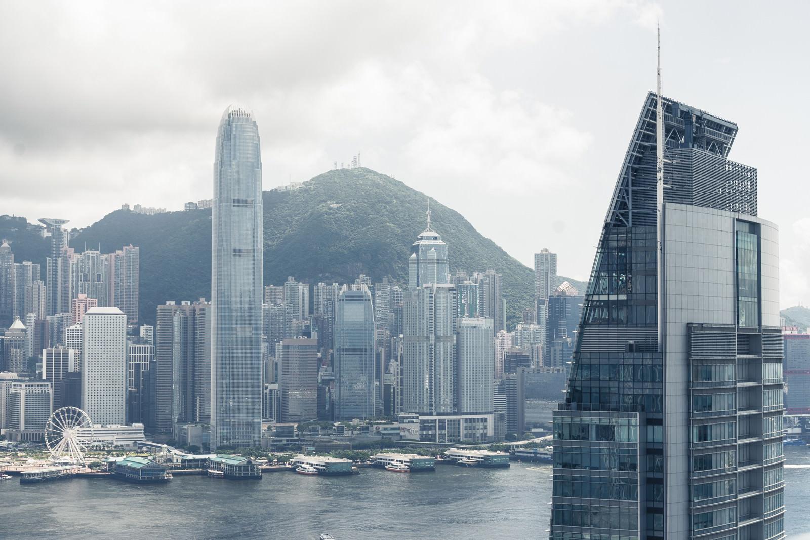 「香港の街並み」の写真