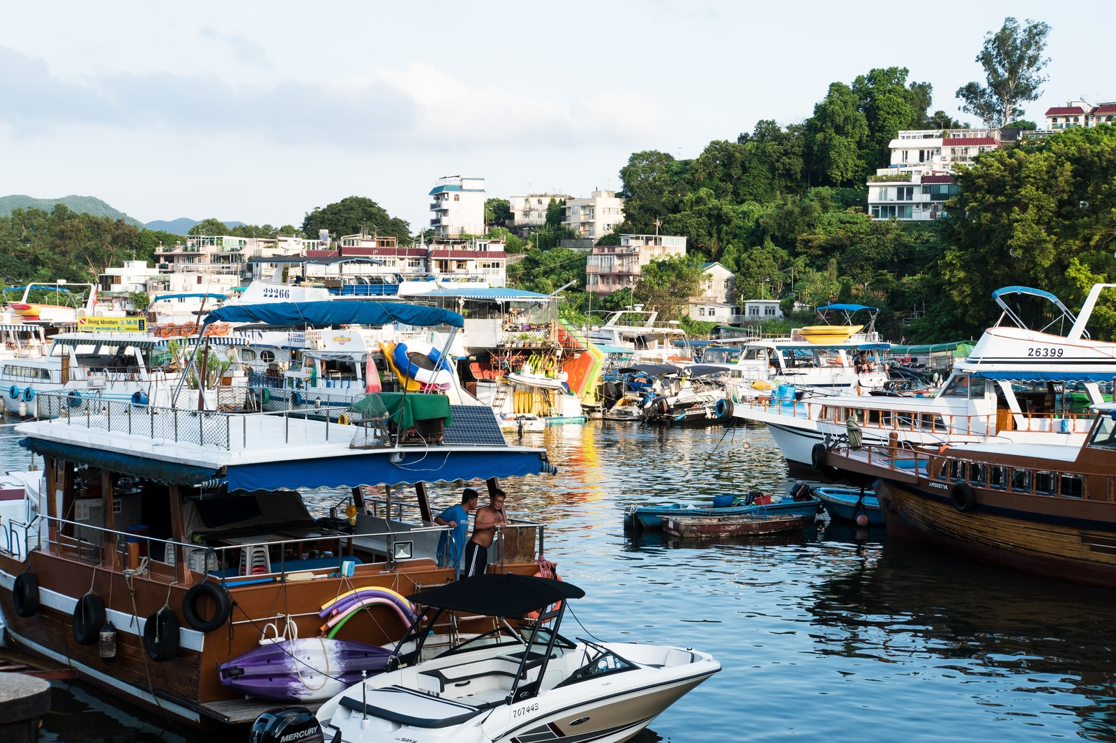 「サイゴンの船溜」の写真