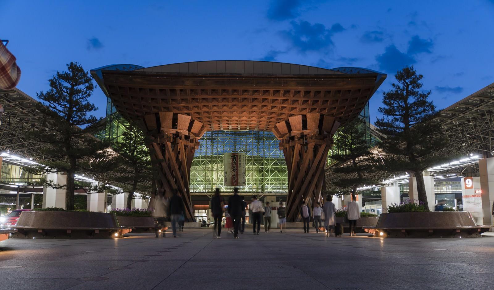 「金沢駅「鼓門」」の写真