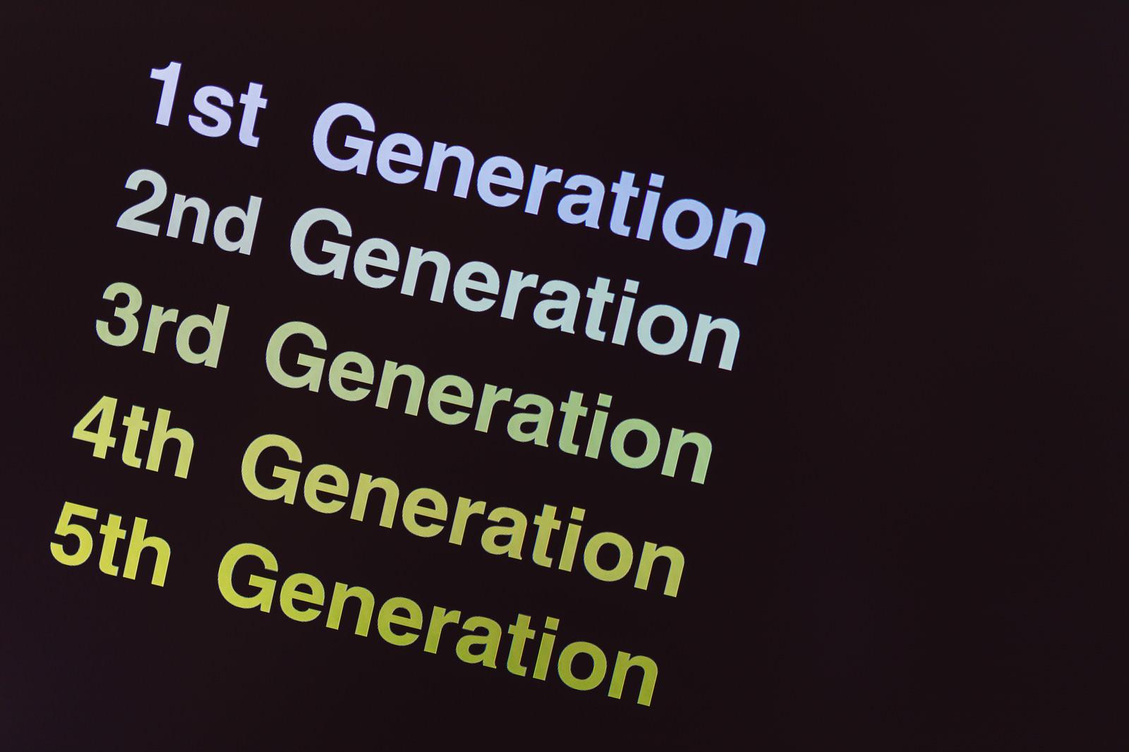 1th~5th Generationのフリー素材