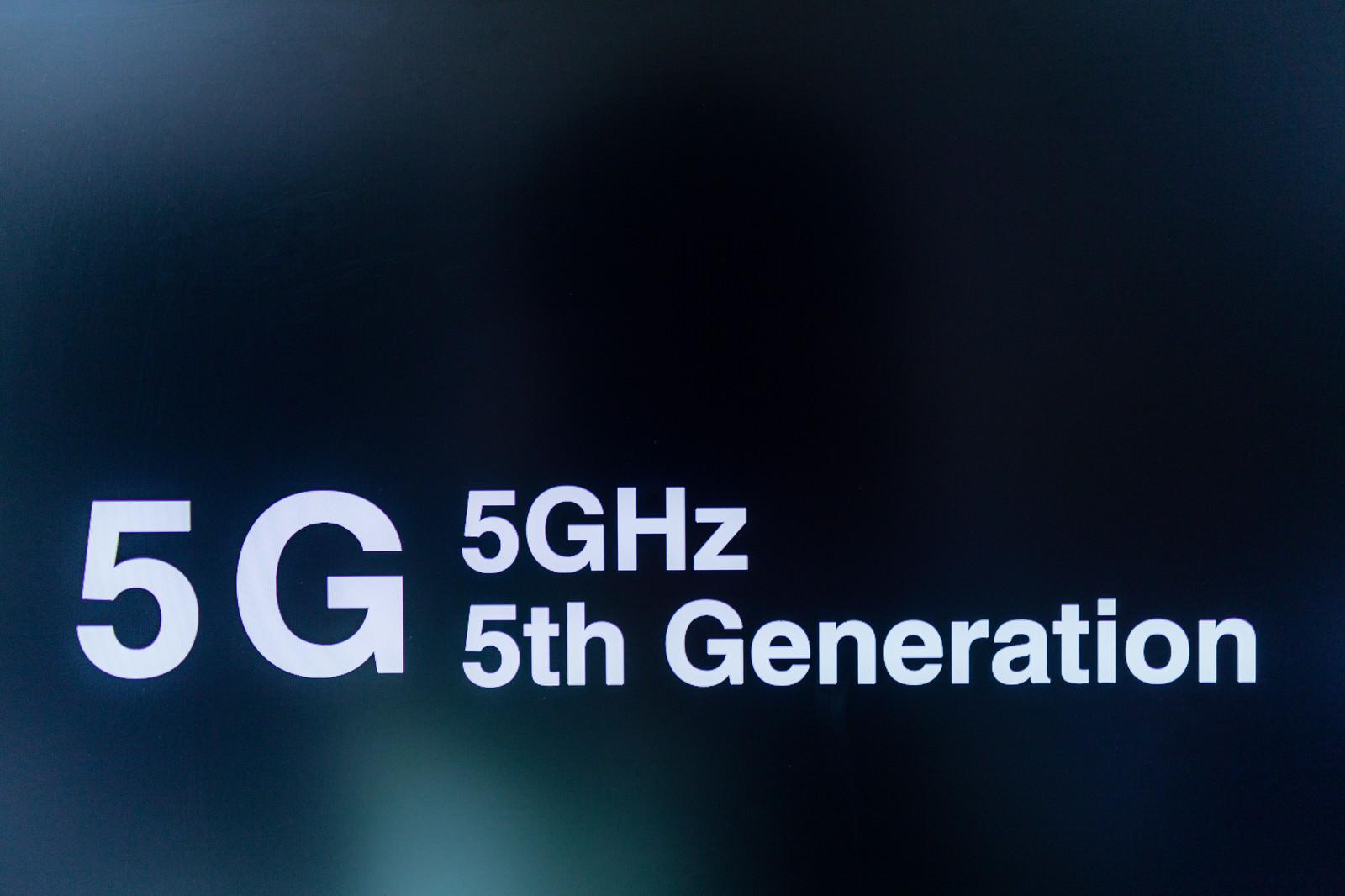 「「5G」は、5GHzではなく5th Generationです。」の写真
