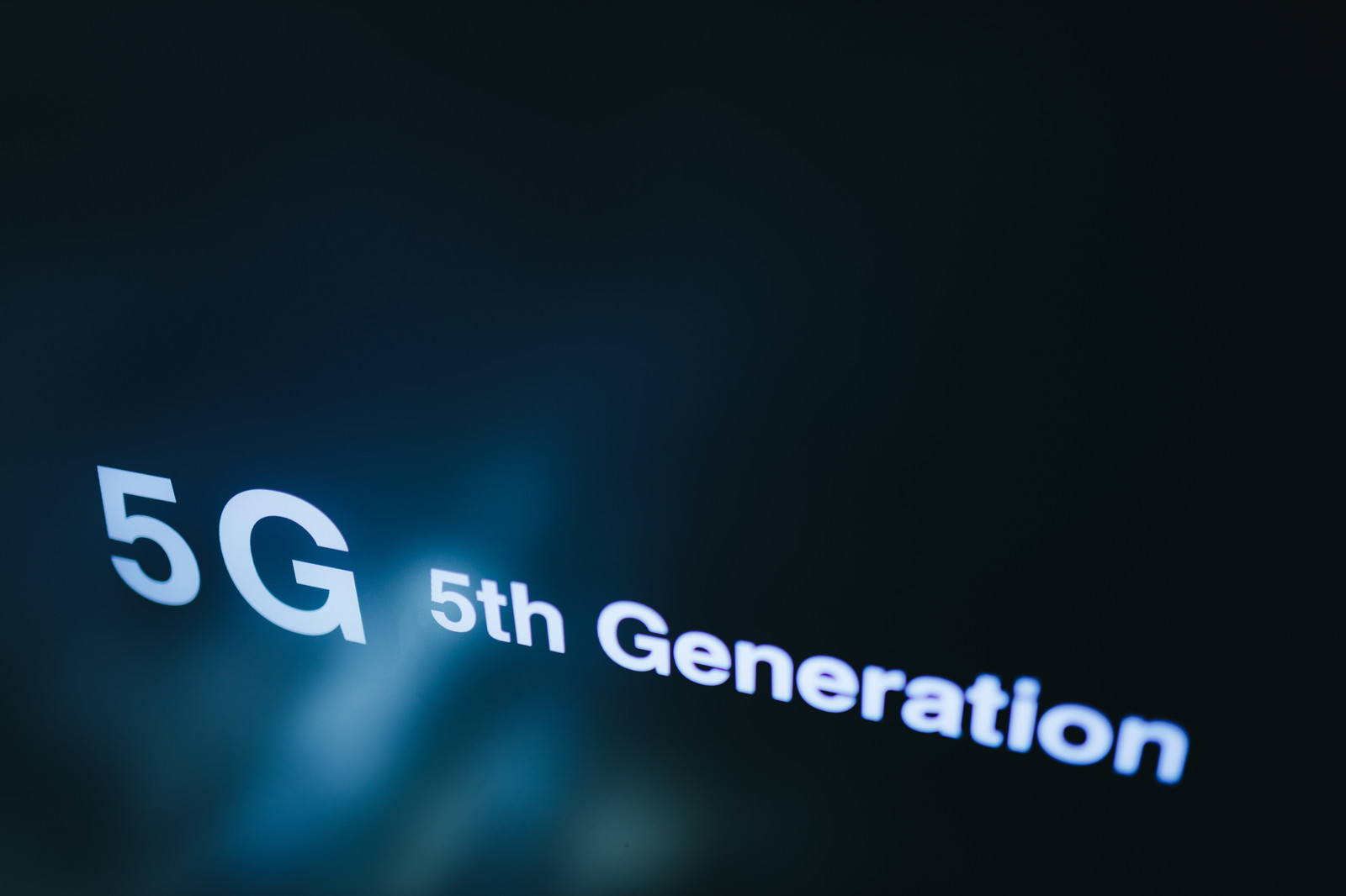 「5G(ファイブジー)」の写真
