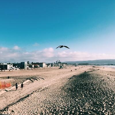 「ハモサビーチ(カリフォルニア)」の写真素材