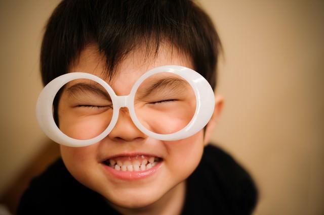 ハッピー!笑顔が最高の子供