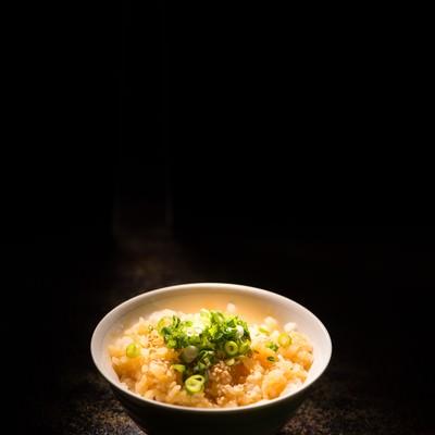「美しすぎる卵かけご飯(TKG)」の写真素材