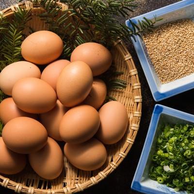 「平湯温泉の料理宿「栄太郎」は、生たまご食べ放題の朝食が付きます」の写真素材