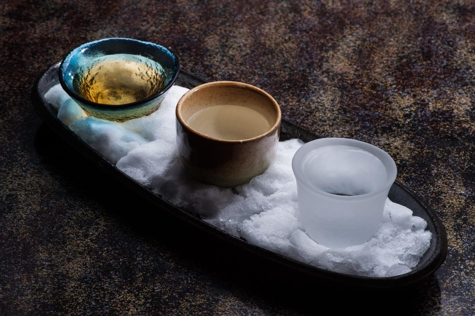 「飛騨の地酒利き酒セット」の写真