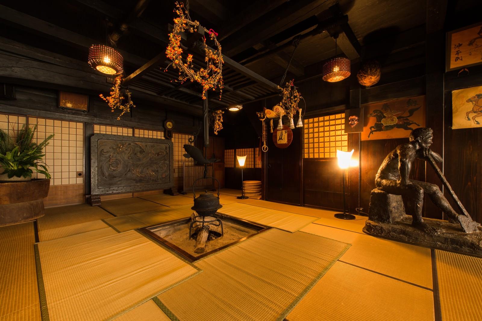 「平湯温泉最古の建物である平湯館旧館」の写真