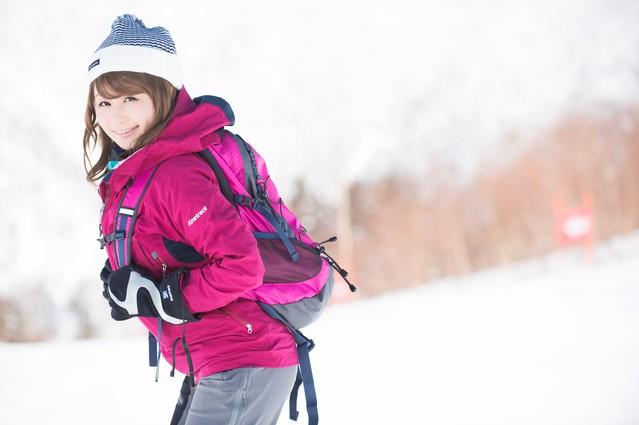「会社のWEBサイト404になっちゃった」とにこやかな美人WEB担当は雪山満喫中の写真