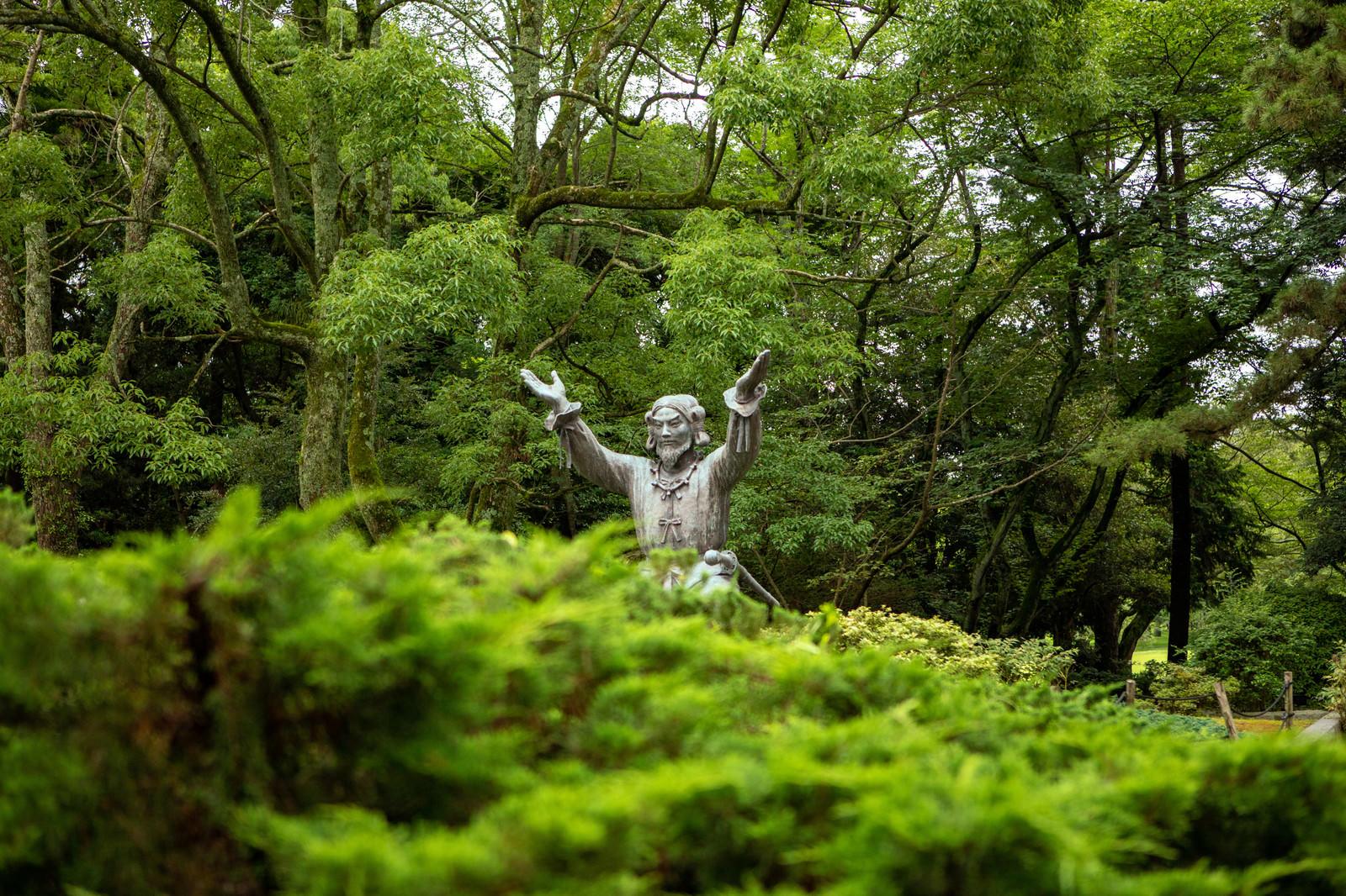 「大国主大神(オオクニヌシノオオカミ)をチラ見」の写真