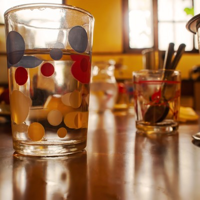 「カフェのワンシーン」の写真素材